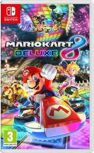 Mario Kart 8 Deluxe Switch - £34.99 @ Amazon UK (£36.99 without Prime)