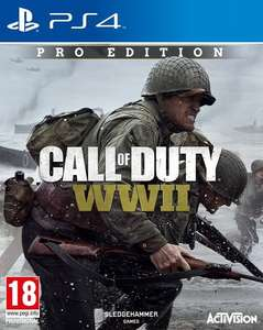 Call of Duty: WWII Pro PS4 or Xbox One (Pre-Order) £69.99 (or £67.99 with prime) @ Amazon