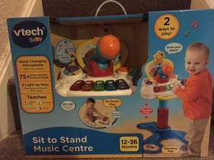 Vtech Sit to Stand Music Centre found instore at Tesco (Formby) for £9.98