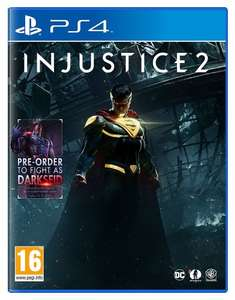 Injustice 2 - PS4/XB1 Only £34.99 (Prime) or £36.99 @ Amazon
