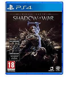 Middle-earth: Shadow of War - PS4/XB1 £37 (Prime) Pre-Order or £39 @ Amazon
