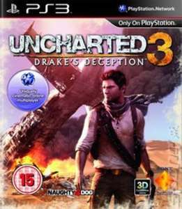 Uncharted 3: Drake's Deception (PS3) *PREOWNED* £1.75 Delivered @Music Magpie (+Others)