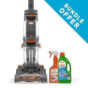 Vax Dual Power Carpet Cleaner PLUS Stain and Solution Bundle PLUS  FREE Steam Iron Worth £44.99 w/2yr guarantee   - All for £109.99 delivered @ Vax