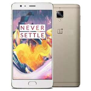 FLASH SALE: OnePlus 3T (Gold) 64GB - £337.67 at Gearbest