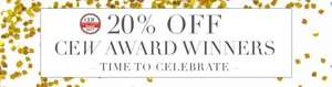 20% off Liz Earle CEW award winners plus further £5 off £20 spend with code