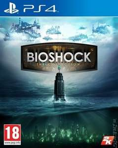 Bioshock: The Collection (PS4) - £17.67 used at MusicMagpie (with code)