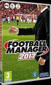 Football Manager 2017 - PC £5 @ Chester FC Club Shop