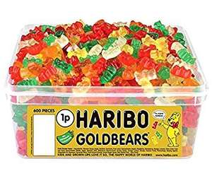 Haribo Gummy Sweet Boxes from £5.99 + £1.99 p&p Groupon (£31.19 for six random boxes)