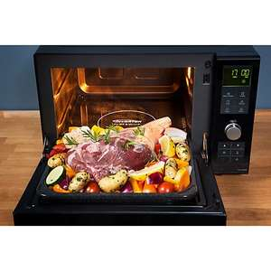 Panasonic NN-DF386 Flatbed Combination Microwave - Black  £119.99 at Argos plus £10 voucher = £109.99, Plus free £50 knife set...... £200 + elsewhere
