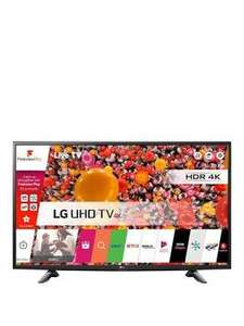 LG 49UH603V 49 inch Ultra HD 4K, HDR Pro, Smart TV £399.99 + £6.99 Del @ Very