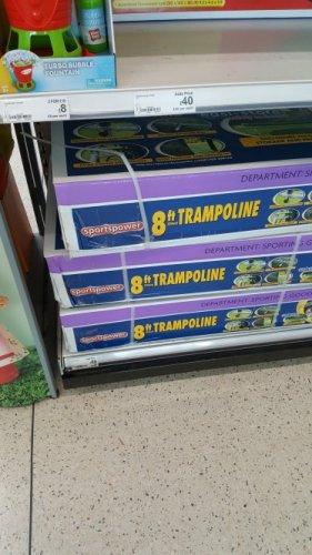 ASDA   8 foot trampoline  - £69.99 instore