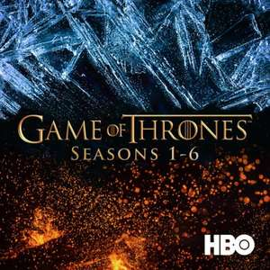 Game of thrones seasons 1-6 in HD £49.99 @ iTunes
