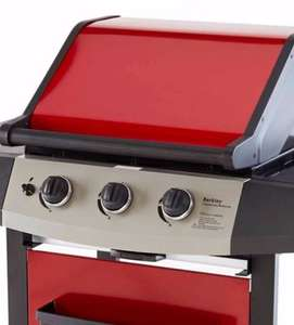 BERKLEY 3 BURNER GAS BBQ £90 with code @ B&Q (was £127) + cashback
