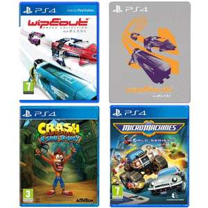 Wipeout Omega Collection inc Steelbook + Crash Bandicoot N Sane Trilogy + Micro Machines World Series all for £63.97 @ Amazon Prime