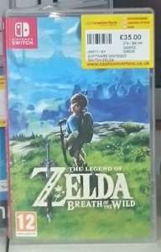 Legend of Zelda: Breath of the Wild - Nintendo Switch (preowned) £35 - Cash Convertors