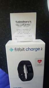 Fitbit Charge HR 2 only £90 instore at Sainsburys (Stafford) (£4.50 back in nectar points)