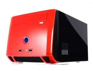 CFI A8989 Mini-ITX Cube Case inc 150W PSU - Red/Black - £9 (£17.20 delivered) @ Linitx