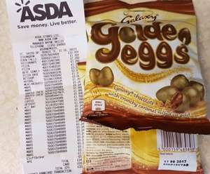 Possible glitch? Galaxy Golden Eggs 80g scanning at 24p at Asda Bournemouth (St Pauls)