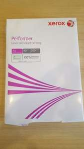 500 sheets of A4 Xerox 80GSM paper £1 instore at Asda Blyth
