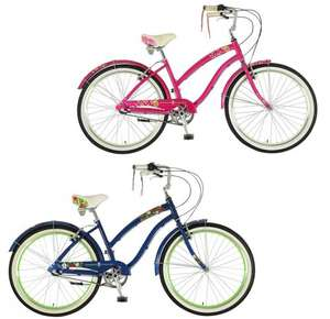 Ladies Dawes Poppy 2017 British Cruiser bikes in Blue / Strawberry £139.99 delivered @ Rutland Cycling (Using voucher code)