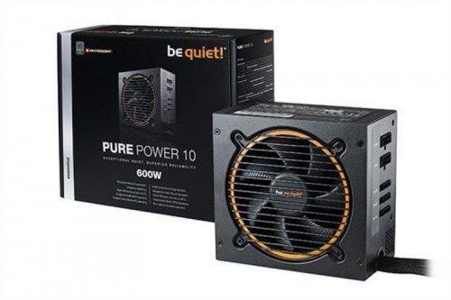 be quiet! 600W Pure Power 10 CM Semi Modular PSU (80+ Silver)  - £64.97 @ Ebuyer (Free del)