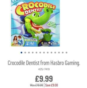 Crocodile Dentist £6.99 with code @ Argos
