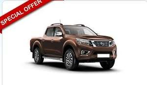 Nissan Navara Diesel Double Cab Pick Up Tekna 2.3dCi 190 BHP 4WD! - Total Price £6333 @ UK Car & Van Leasing