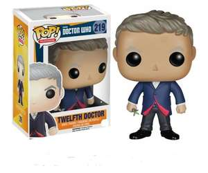 Funko Pop T.V. Doctor Who - Dr. #12 Figure  £6.92 (Prime) Sold by YUK and Fulfilled by Amazon.