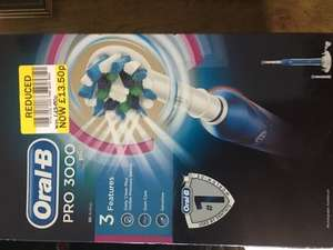 Braun Oral-B Pro 3000 Electric Toothbrush £13.50 instore @ Tesco