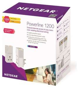 NETGEAR PL1200 Powerline Adapter £44.99 Argos on eBay