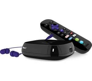 ROKU - 3 Media Streamer + Now TV 3 months entertainment pass £58.99 instore @ Currys