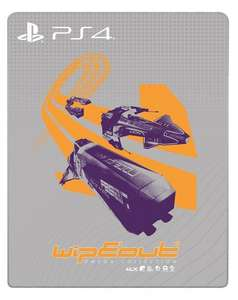 Wipeout Omega Steelbook (PS4) - £9.99 (Prime) @ Amazon - Pre-Order (Game not included)