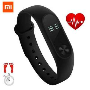 Original Xiaomi Miband 2 Fitness Band / Smart Watch. Was £19.63 NOW £15.70 with code @ BangGood