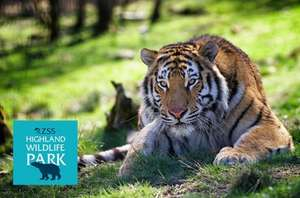 2 adults 1 day entry to the Highland Wildlife Park for £15 @ Itison