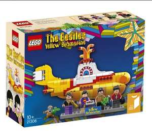LEGO Ideas 21306 The Beatles Yellow Submarine £37.99 C+C @ John Lewis