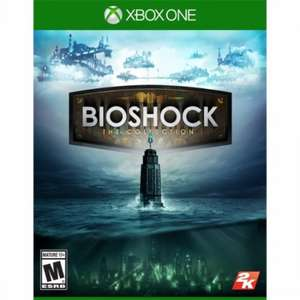 "Bioshock Collection Xbox One (PS4 OOS) Guaranteed ""As New"" scratch free disc with brand new box Boomerang £16.89 (£14.39! via TCB promo)"