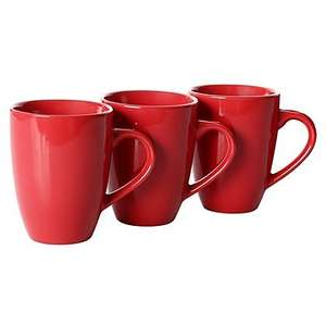 3 pack mugs for £1 with free c&c @ Asda George