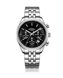Rotary Men's Quartz Watch with Black Dial Chronograph Display £39.45 Del @ Amazon