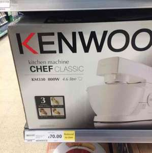 Kenwood chef classic KM330 reduced to £70 Tesco in store
