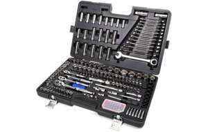 Halfords 200 piece ratchet and spanner set Was £350 Now £150. Lifetime Guarantee