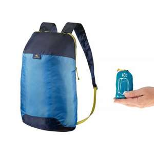 QUECHUA Arpenaz 10L ultra-compact BackPack £1.99 +Free C+C to your local Asda @ Decathlon