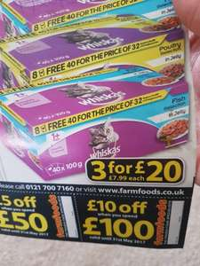 Farmfoods Cat Food