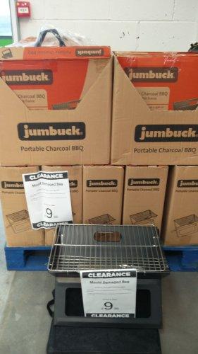 Jumbuck portable charcoal BBQ £9.96 @ Homebase York