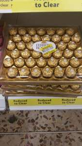 Ferrero Rocher 42 piece £4.80 @ Tesco - was £12