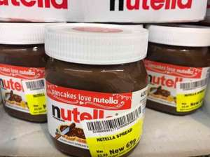 Nutella small jars 69p instore @ Morrisons