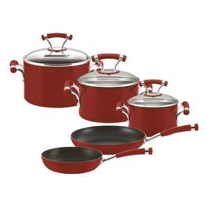 Red and black pan sets was £230 now £115 Del @ Circulon