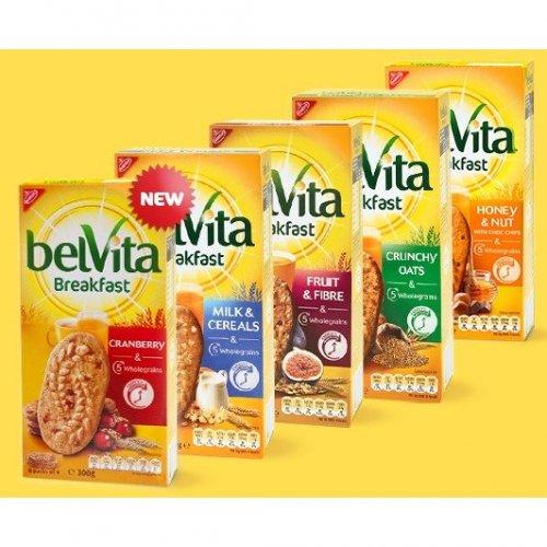 Belvita Breakfast Biscuits - 6 x 50g in 7 flavours - £1 online / in-store @ Asda