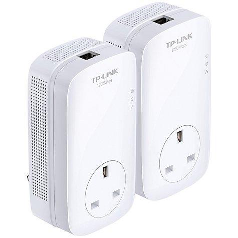 TP-LINK AV1200 Gigabit Passthrough Powerline Starter Kit, TL-PA8010PKIT - £16 or £19.50 delivered @ John Lewis