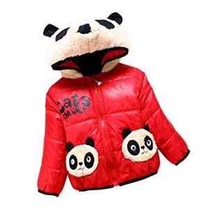 Little Sorrel Baby  Winter Panda Animal Coat RED 12-18mths was £15 now £3.50 prime / £7.49 non prime Sold by Little Sorrel and Fulfilled by Amazon