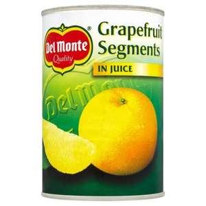 Del Monte Grapefruit Segments In Juice 411g 39p In Home Bargains